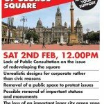 George Square Rally - Sat 2nd Feb - 12pm